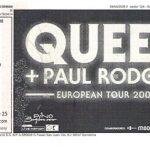 Queen_22102008-tiquet
