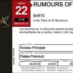 rumours-ticket