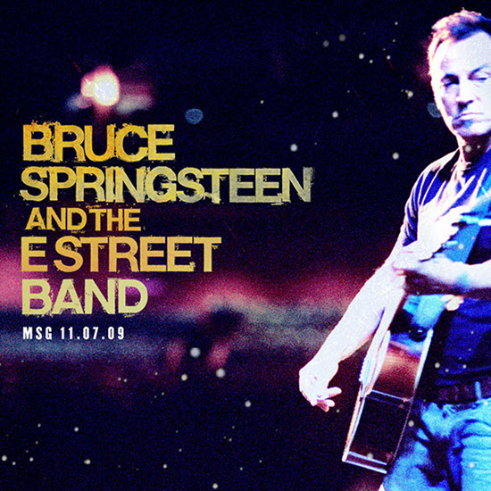 BRUCE SPRINGSTEEN AND THE E STREET BAND – MADISON SQUARE GARDEN NEW YORK, NY – 07/11/2009
